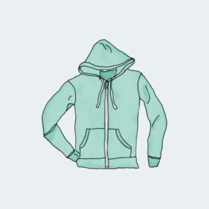 hoodie zip
