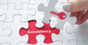 Staying the course blog post - consistency in organization