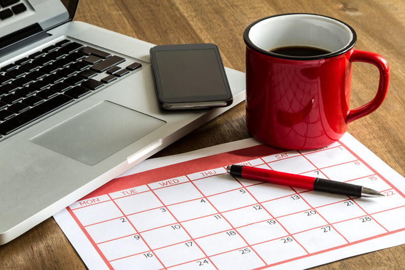 Time management tools - calendars, ticklers, task management, electronic to do lists