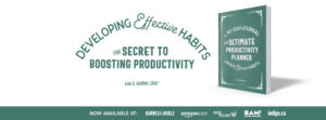 The Ultimate Productivity Planner book for developing effective habits