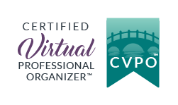 Certified Virtual Professional Organizer